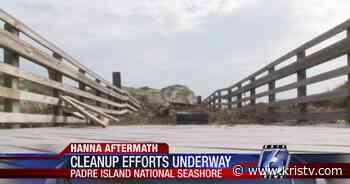 Hurricane Hanna forces Padre Island National Seashore to close - KRIS Corpus Christi News