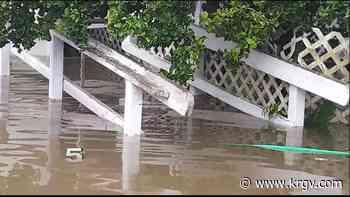 Mercedes resident's car broken into, home impacted by hurricane Hanna - KRGV
