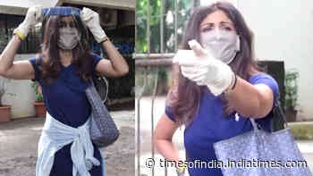 Shilpa Shetty Kundra schools paps for not wearing mask and following social distancing