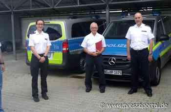 POL-DA: Lampertheim: Ehrung für 10 Jahre Freiwilliger Polizeidienst - Presseportal.de