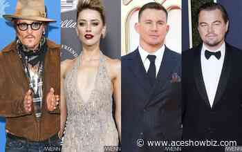 Johnny Depp Considered Channing Tatum and Leonardo DiCaprio 'Sexual Threat,' Amber Heard Reveals - AceShowbiz Media