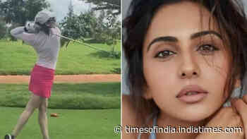 When Rakul Preet Singh played golf for five hours
