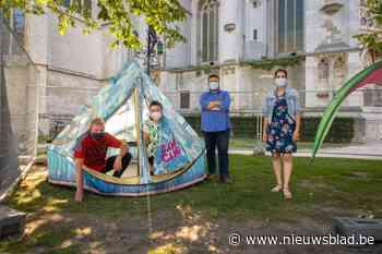 Urban Camping zoekt snel kleinschalig alternatief: stadskamperen kan nog op twee plaatsen