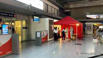 Corona-Testzentrum am Bodensee-Airport in Friedrichshafen eingerichtet - SWR
