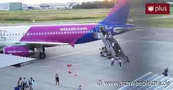 Risikogebiet-Passagiere werden am Flughafen Friedrichshafen getestet - Schwäbische