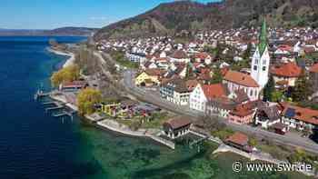Coronavirus am Bodensee: Ufer bei Sipplingen wird gesperrt   Friedrichshafen   SWR Aktuell Baden-Württemberg   SWR Aktuell - SWR