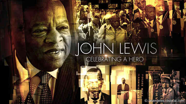 CBS Airing One-Hour Primetime Special, 'John Lewis: Celebrating A Hero' On Tuesday August 4