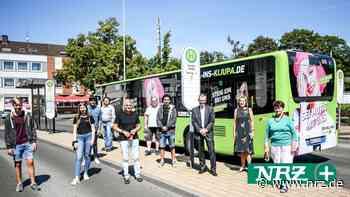 Dinslaken: Bus wirbt für das Kinder- und Jugendparlament - NRZ