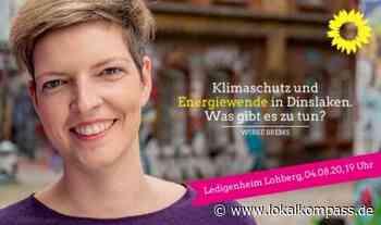 Landtagsabgeordnete in Lohberg: Klimaschutz und Energiewende in Dinslaken – Was gibt es zu tun? - Dinslaken - Lokalkompass.de