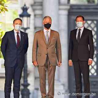 Koning verlengt opdracht De Wever en Magnette tot 8 augustus