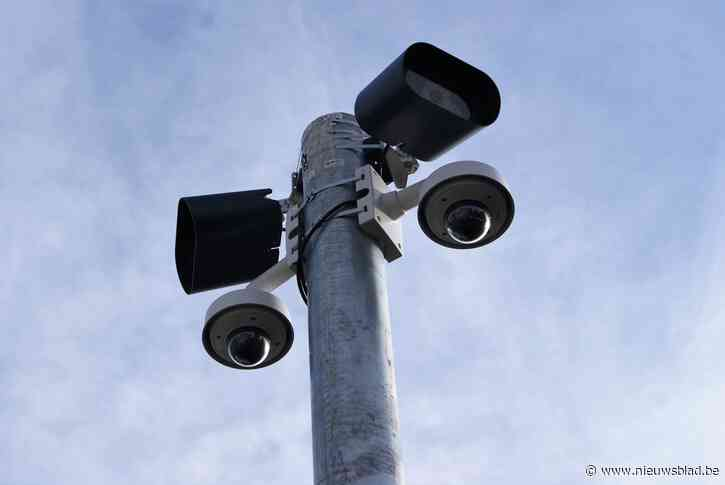 ANPR-camera op de Elshoutbaan