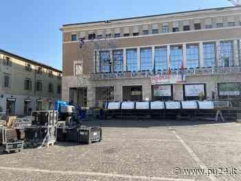 - ROF, al lavoro per l'arena in Piazza del Popolo - pu24.it