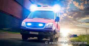 Zusammenstoß bei Neu-Anspach - 80-Jähriger muss ins Krankenhaus - Usinger Anzeiger