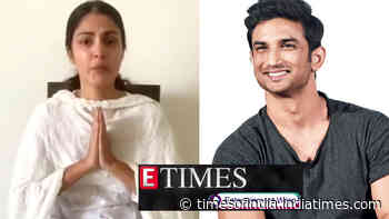 Rhea Chakraborty issues video statement on Sushant Singh Rajput death case; ED files a money laundering case over 'suspicious transactions', and more...