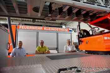 Ein Jahr nach Brand in Kleinostheim: Feuerwehr-Gerätehaus ist saniert - Main-Echo