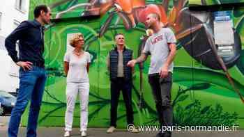 Les animaux de l'artiste Ecloz décorent les transformateurs électriques à Elbeuf - Paris-Normandie