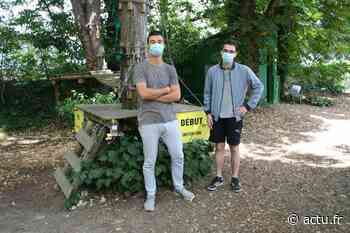 Saint-Pierre-lès-Elbeuf. Le parc d'accrobranche Sequoia aventure s'adapte aux mesures sanitaires - actu.fr
