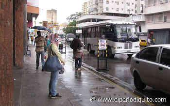 Lluvias disminuyeron movilización en el centro de Maracay - El Periodiquito