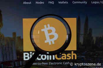 Bitcoin Cash Kurs Prognose: BCH/USD 105 Prozent von Jahreshoch weg - Kryptoszene.de - Kryptoszene.de
