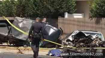 Muere inocente víctima de presunta carrera clandestina en Santa Ana - Telemundo 52