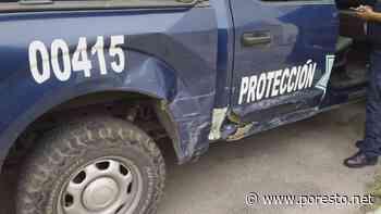 Patrulla de la Policía Federal provoca accidente en Chetumal - Por Esto