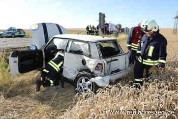 Mehrere Verletzte bei Unfall in Klipphausen - Radio Dresden