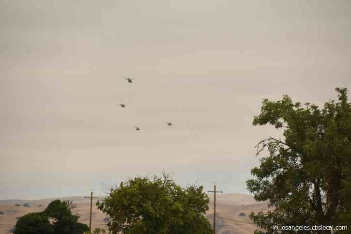 National Guard To Fly Black Hawk Choppers Over LA Friday