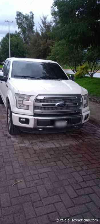 Recuperan en Tala, camioneta robada en Zapopan. - Tala Jalisco Noticias