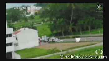 Captan momento en que integrantes del CJNG intercepta a jóvenes en Puerto Vallarta - Noticieros Televisa