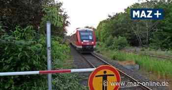 RE6 zwischen Neuruppin und Velten: Oberleitungen und Elekrozüge für den Prignitz-Express - Märkische Allgemeine Zeitung
