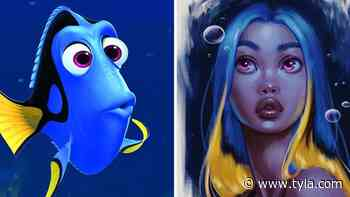 Artist Transforms Disney Animals Into Real People - Tyla