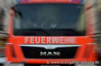 Löscharbeiten in Neckarsulm - Einsatzkräfte finden Schusswaffen in brennender Wohnung - Stuttgarter Zeitung