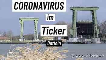 Datteln: Elf Menschen aus Datteln mit Coronavirus infiziert - 24VEST