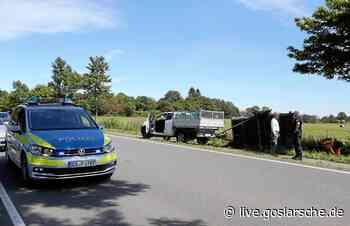 Unfall zwischen Buntenbock und Clausthal - GZ Live
