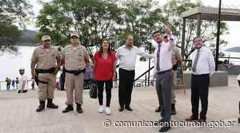 Ponderan el trabajo de Prefectura y la Policía en El Cadillal - comunicaciontucuman.gob.ar