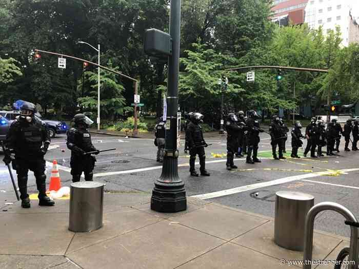 Portland Police Temporarily Barred From Live-Streaming Protests