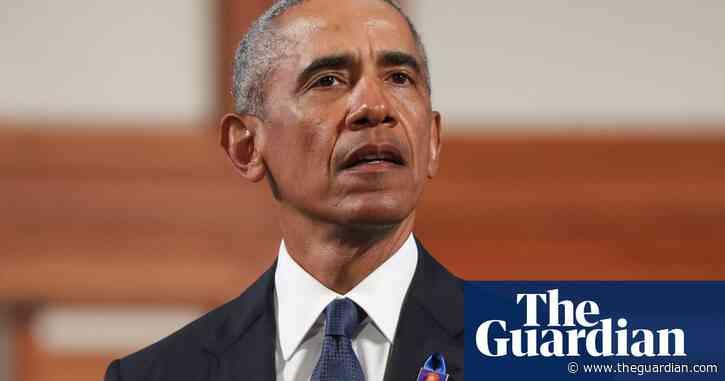 Barack Obama's powerfully political eulogy for John Lewis – video