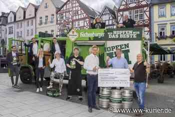 """Benefizkonzert """"Hachenburger Bier-Park live"""" in Hachenburg bringt mehr als 3.500 Euro an Spendengeld - WW-Kurier - Internetzeitung für den Westerwaldkreis"""