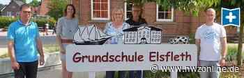 Neues Erkennungszeichen: Grundschule Elsfleth bekommt ein Schulschild - Nordwest-Zeitung