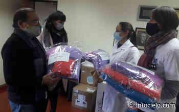 Presos donaron camisolines, cofias y botas al Hospital San Felipe de San Nicolás - Infocielo
