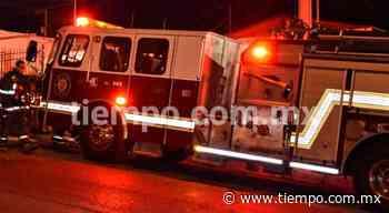 Movilización por incendio en aire acondicionado en San Felipe - El Tiempo de México