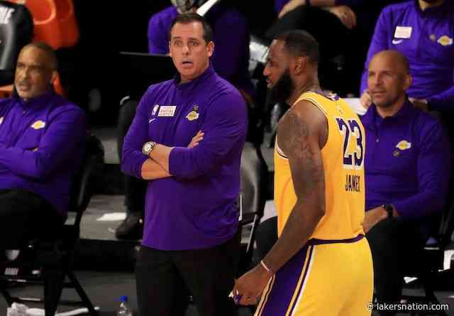 Frank Vogel: Lakers Have 'Long Way To Go' Before NBA Playoffs