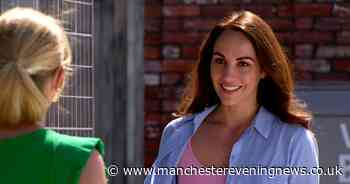 Model and former Emmerdale actress arrives on Coronation Street