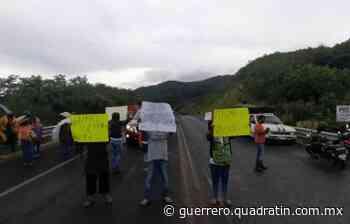 Recolectores de La basura, jefa bloquean la Chilpancingo-Tixtla - Quadratín Michoacán