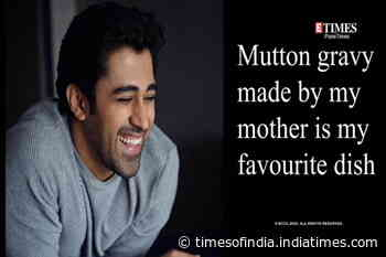 Mutton gravy made by my mother is may favourite dish says Pratik Deshmukh
