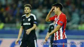 Gaitán, en Madrid a la espera de firmar con su nuevo club