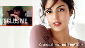 Rhea Chakraborty reacts to her viral video, says, 'I like to do comedy sometimes'