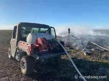Firefighters douse tundra fire outside Rankin Inlet - Nunatsiaq News