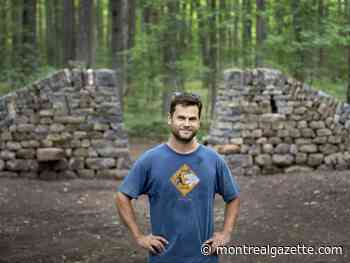 New stone wall gives ancient look to Beaconsfield's Angell Woods
