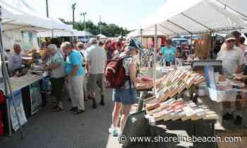 Port Elgin Main Beach flea market cancelled - Shoreline Beacon